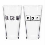 NPR pint glass from the WKNO FM website: http://wknofm.org/thank-you-gifts